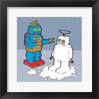 Framed Snow Bot