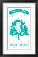 Framed Illinois