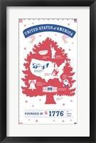 Framed USA
