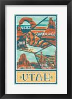 Framed Utah Parks