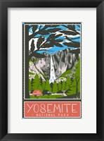 Framed Yosemite National Park
