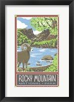 Framed Rocky Mountain National Park