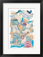 Framed Mississippi River