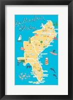 Framed Southeastern States