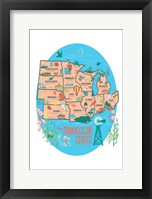 Framed Midwestern States