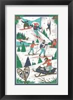 Framed Winter Scenes