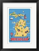 Framed Michigan