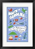Framed North Carolina