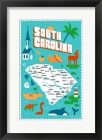 Framed South Carolina
