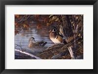 Framed Autumn Companions