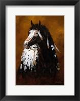 Framed Sioux War Pony