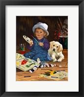 Framed Little Artist