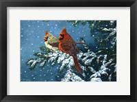 Framed Sharing The Season - Cardinals