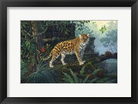 Framed Guardian Jaguar