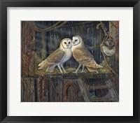 Framed Barnyard Romance