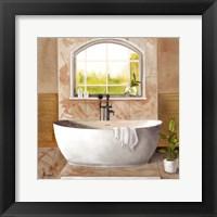 Framed Marble Bath I