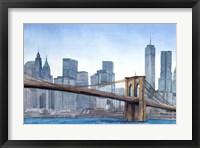 Framed NY Skyline