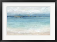 Framed Serene Sea Landscape