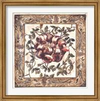 Framed Gloriosa Tapestry