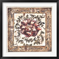 Framed Gloriosa Tapestry