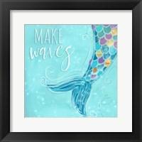 Framed Make Waves I
