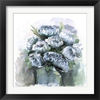 Framed Potted Chrysanthemums