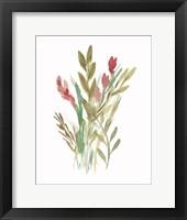 Framed Farmhouse Florals IV