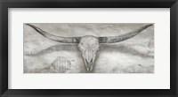 Framed Longhorn II
