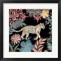 Framed Jungle Exotica Leopard I