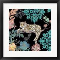 Framed Jungle Exotica Leopard II