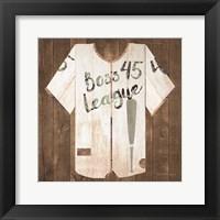 Framed Vintage Sports Boss League