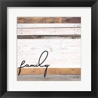 Framed Family Pallet