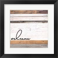 Framed Welcome Pallet