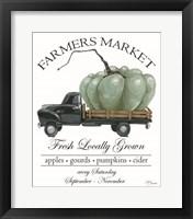 Framed Farmers Market Truck