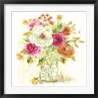 Framed Garden Jar V