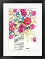 Framed Blissful Blooms
