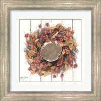 Framed Hello Fall Wreath