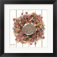 Framed Hello Fall Wreath