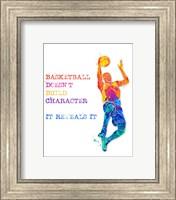 Framed Basketball 1