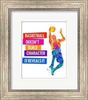 Framed Basketball 2