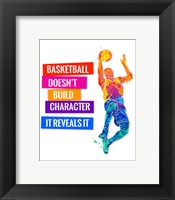 Framed Basketball 2
