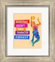 Framed Basketball 3