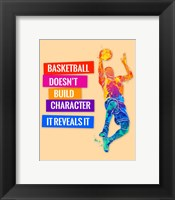 Framed Basketball 3