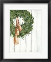 Framed Copper Bells Ring