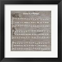 Framed Away in the Manger Sheet Music