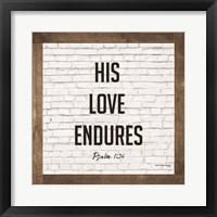 Framed His Love Endures