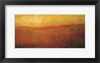 Framed Golden Sunrise