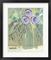 Framed Flower Lady