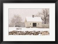 Framed Virginia Snow Storm