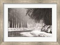 Framed Winter River